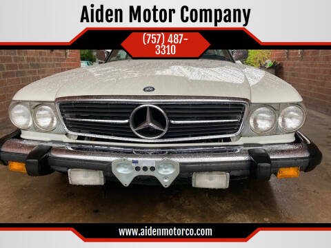 1984 Mercedes-Benz 380-Class for sale at Aiden Motor Company in Portsmouth VA
