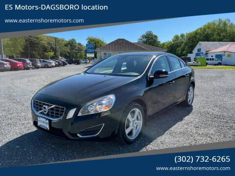 2012 Volvo S60 for sale at ES Motors-DAGSBORO location in Dagsboro DE