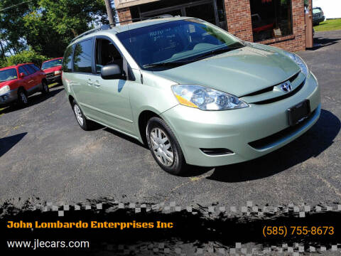2006 Toyota Sienna for sale at John Lombardo Enterprises Inc in Rochester NY