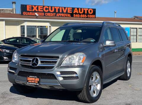 2012 Mercedes-Benz GL-Class for sale at Executive Auto in Winchester VA