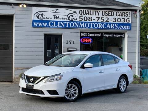 2019 Nissan Sentra for sale at Clinton MotorCars in Shrewsbury MA