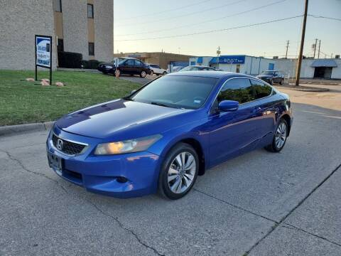 2008 Honda Accord for sale at DFW Autohaus in Dallas TX
