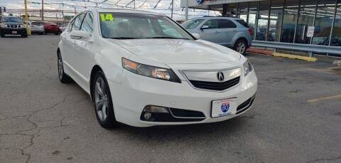 2014 Acura TL for sale at I-80 Auto Sales in Hazel Crest IL