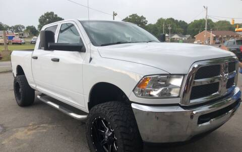 2013 RAM Ram Pickup 2500 for sale at Creekside Automotive in Lexington NC