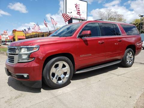 2015 Chevrolet Suburban for sale at Gus's Used Auto Sales in Detroit MI