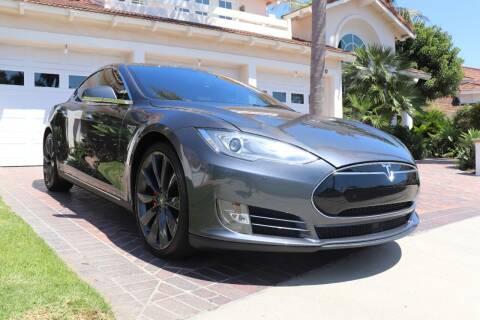 2014 Tesla Model S for sale at Newport Motor Cars llc in Costa Mesa CA