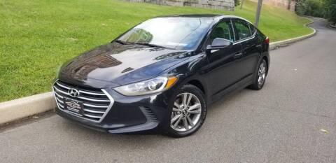 2017 Hyundai Elantra for sale at ENVY MOTORS LLC in Paterson NJ