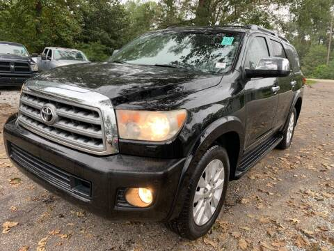 2010 Toyota Sequoia for sale at Triple A Wholesale llc in Eight Mile AL