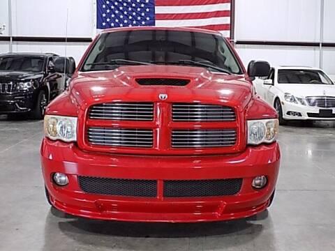 2004 Dodge Ram Pickup 1500 SRT-10 for sale at Texas Motor Sport in Houston TX