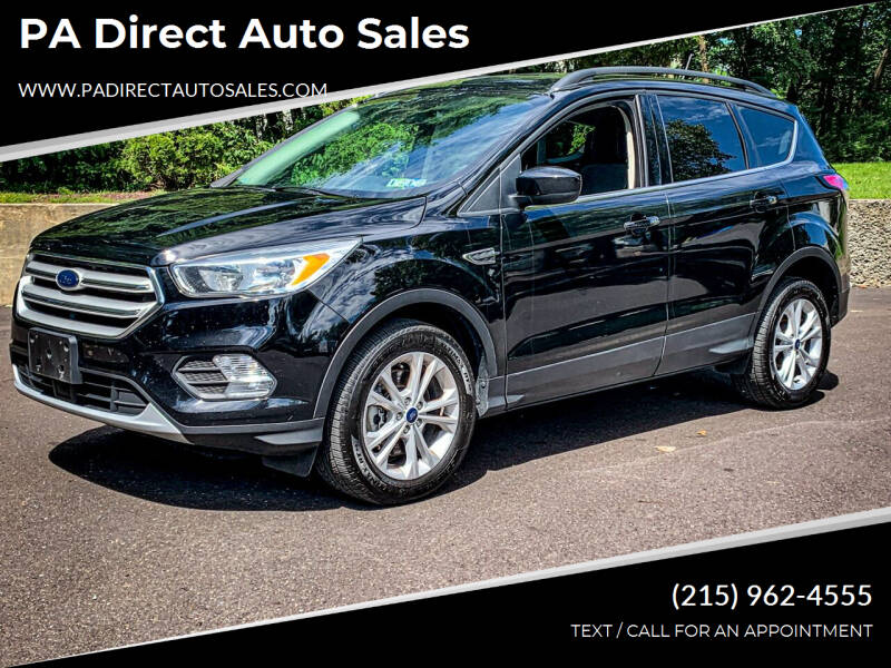 2018 Ford Escape for sale at PA Direct Auto Sales in Levittown PA