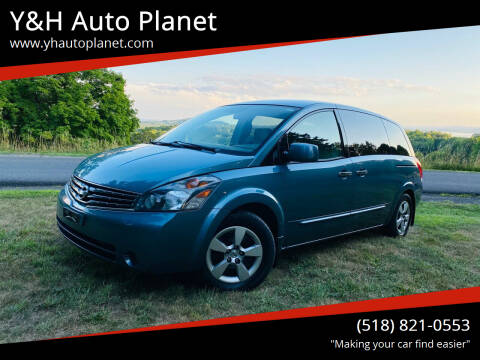 2008 Nissan Quest for sale at Y&H Auto Planet in West Sand Lake NY
