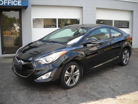 2013 Hyundai Elantra Coupe for sale at Best Wheels Imports in Johnston RI