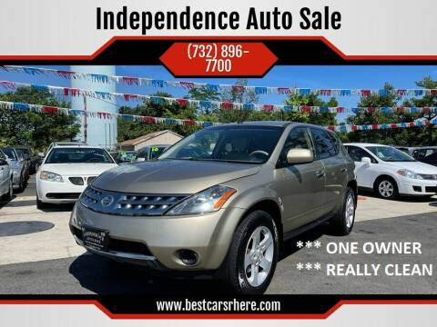 2005 Nissan Murano for sale at Independence Auto Sale in Bordentown NJ