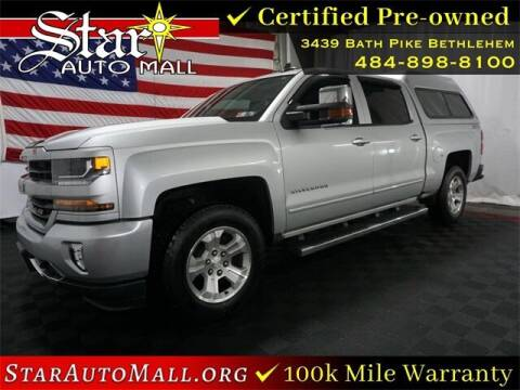 2016 Chevrolet Silverado 1500 for sale at STAR AUTO MALL 512 in Bethlehem PA