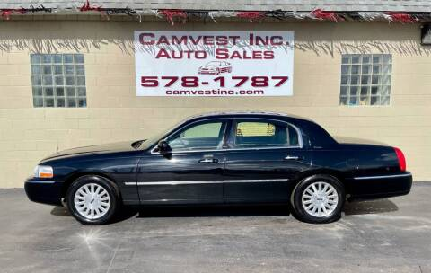 2003 Lincoln Town Car for sale at Camvest Inc. Auto Sales in Depew NY