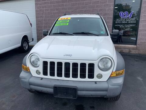 2005 Jeep Liberty for sale at 924 Auto Corp in Sheppton PA