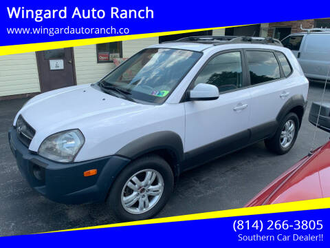 2008 Hyundai Tucson for sale at Wingard Auto Ranch in Elton PA