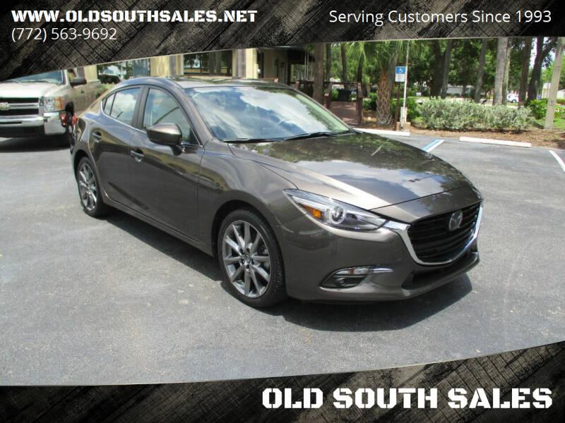 2018 Mazda MAZDA3 for sale at OLD SOUTH SALES in Vero Beach FL