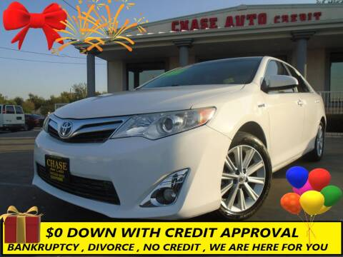2012 Toyota Camry Hybrid for sale at Chase Auto Credit in Oklahoma City OK