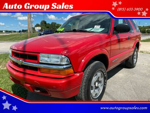 2003 Chevrolet Blazer for sale at Auto Group Sales in Roscoe IL