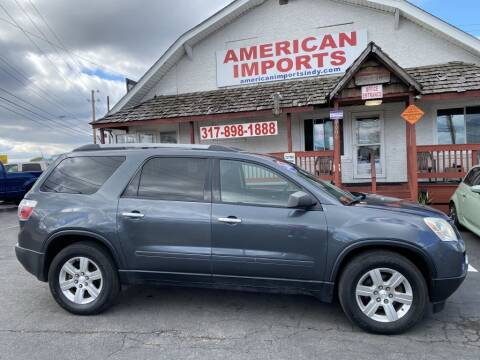 2011 GMC Acadia for sale at American Imports INC in Indianapolis IN