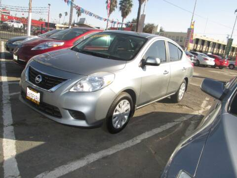 2013 Nissan Versa for sale at Best Deal Auto Sales in Stockton CA