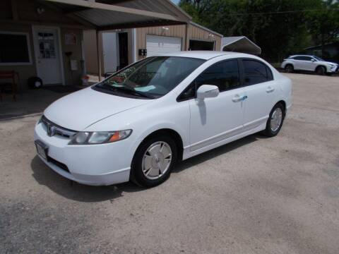 2008 Honda Civic for sale at DISCOUNT AUTOS in Cibolo TX