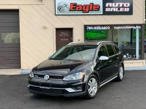 2017 Volkswagen Golf Alltrack for sale at Eagle Auto Sales LLC in Holbrook MA