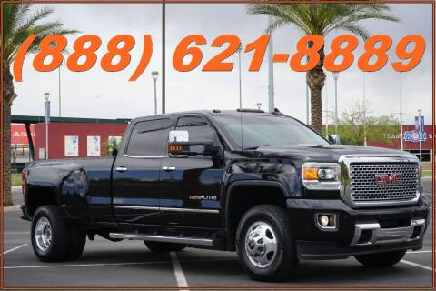 2016 GMC Sierra 3500HD for sale at Motomaxcycles.com in Mesa AZ