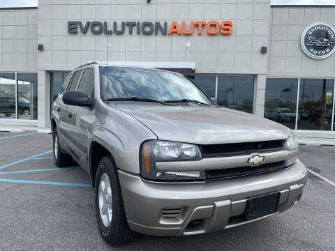 2003 Chevrolet TrailBlazer for sale at Evolution Autos in Whiteland IN