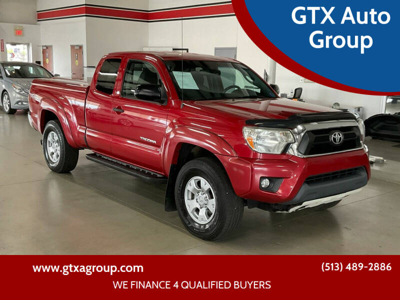 2013 Toyota Tacoma for sale at GTX Auto Group in West Chester OH