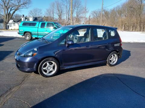 2008 Honda Fit for sale at Depue Auto Sales Inc in Paw Paw MI