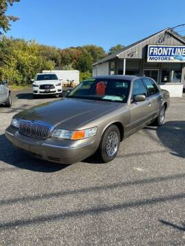 2001 Mercury Grand Marquis for sale at Frontline Motors Inc in Chicopee MA