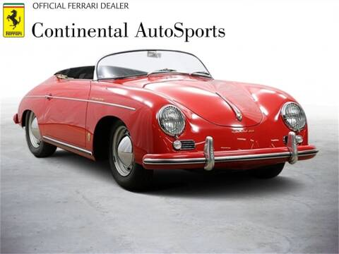 1956 Porsche 356 for sale at CONTINENTAL AUTO SPORTS in Hinsdale IL
