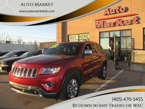 2015 Jeep Grand Cherokee for sale at Auto Market in Oklahoma City OK