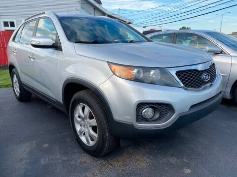 2011 Kia Sorento for sale at Action Automotive Service LLC in Hudson NY
