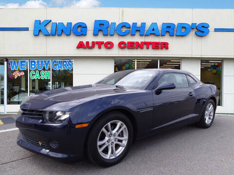 2015 Chevrolet Camaro for sale at KING RICHARDS AUTO CENTER in East Providence RI