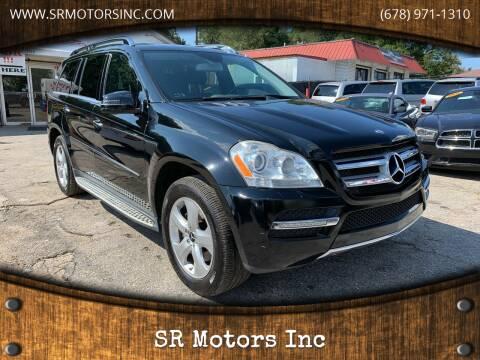 2012 Mercedes-Benz GL-Class for sale at SR Motors Inc in Gainesville GA