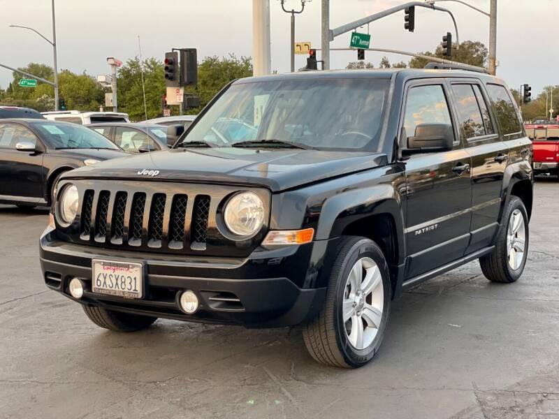 2013 Jeep Patriot for sale at California Auto Deals in Sacramento CA