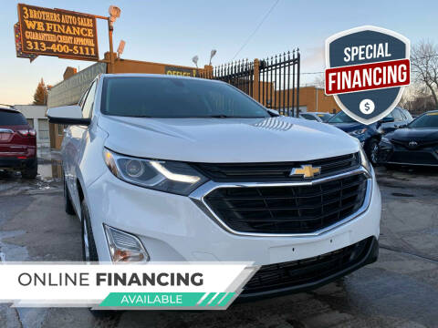 2018 Chevrolet Equinox for sale at 3 Brothers Auto Sales Inc in Detroit MI