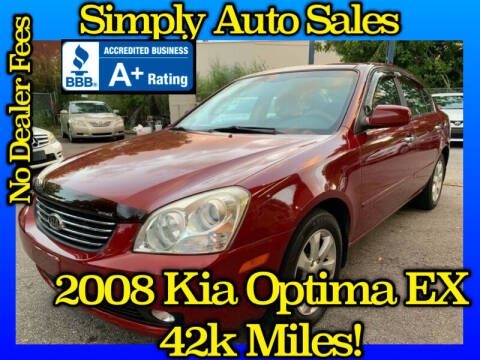 2008 Kia Optima for sale at Simply Auto Sales in Palm Beach Gardens FL