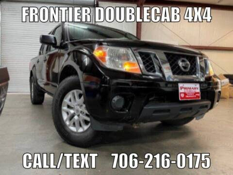 2016 Nissan Frontier for sale at Primary Auto Group in Dawsonville GA