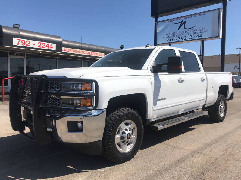 2019 Chevrolet Silverado 2500HD for sale at NORRIS AUTO SALES in Oklahoma City OK