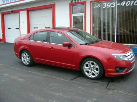 2010 Ford Fusion for sale at Cedar Auto Sales in Lansing MI