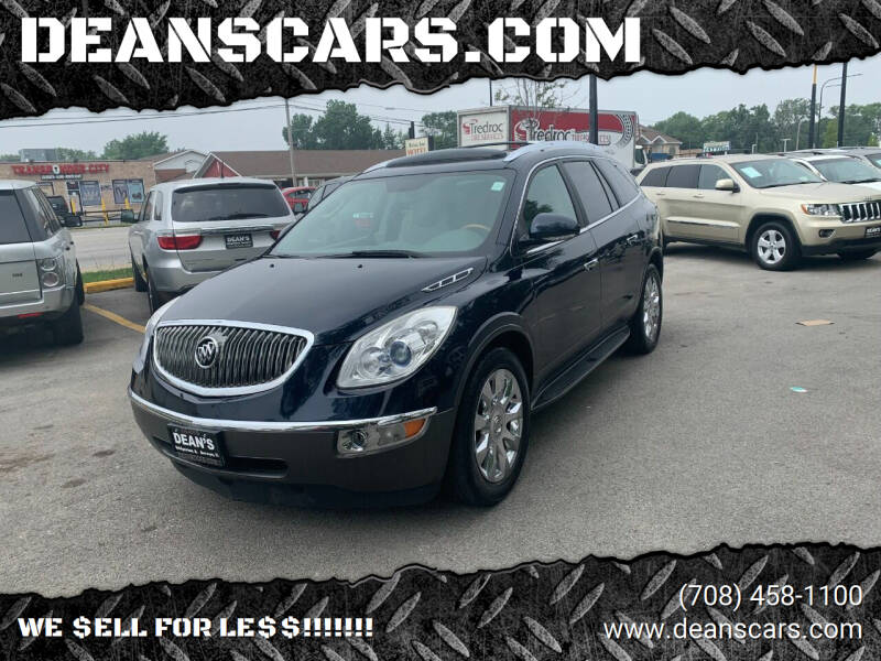 2012 Buick Enclave for sale at DEANSCARS.COM in Bridgeview IL