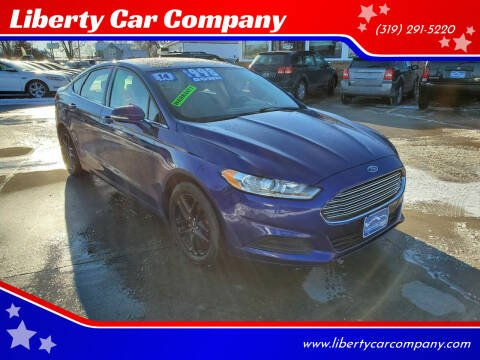 2014 Ford Fusion for sale at Liberty Car Company in Waterloo IA