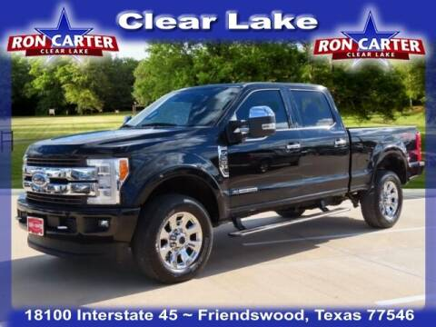 2018 Ford F-250 Super Duty for sale at Ron Carter  Clear Lake Used Cars in Houston TX