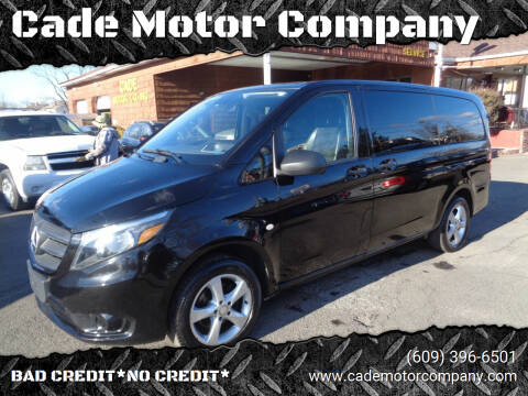 2018 Mercedes-Benz Metris for sale at Cade Motor Company in Lawrenceville NJ