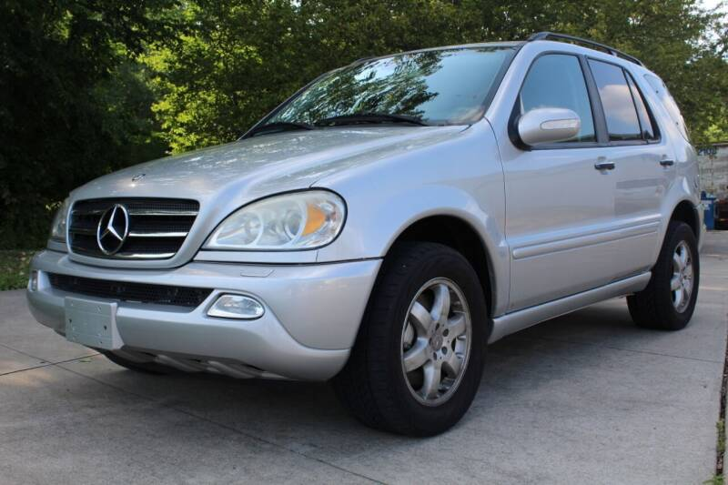 2002 Mercedes-Benz M-Class for sale at CHIPPERS LUXURY AUTO, INC in Shorewood IL