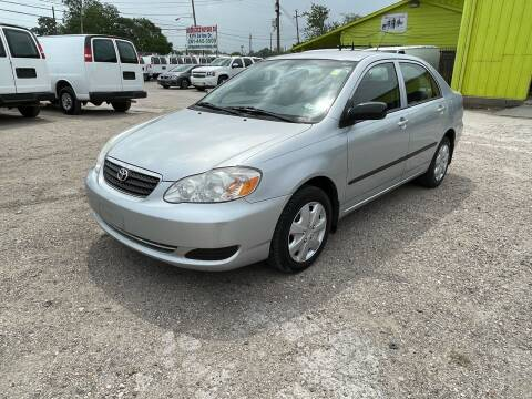 2008 Toyota Corolla for sale at RODRIGUEZ MOTORS CO. in Houston TX